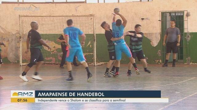 Independente vence o Shalom e vai para a semifinal do Campeonato Amapaense de Handebol