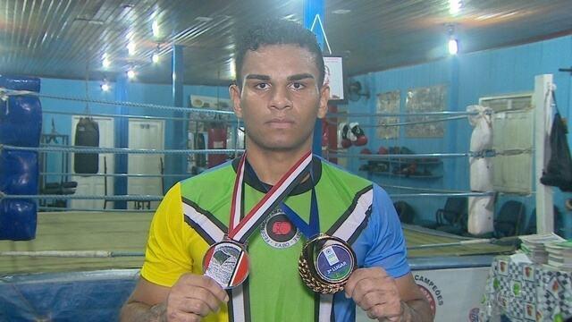 Amapaense conquista medalha no Brasileiro de Boxe no Rio Grande do Sul