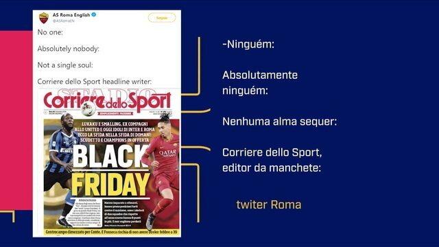 Redação fala sobre o racismo presente na manchete do jornal italiano Corriere dello Sport