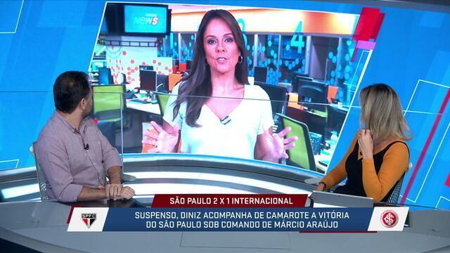 Mesa fala sobre permanência de Fernando Diniz como técnico do São Paulo