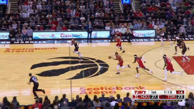 Melhores momentos de Houston Rockets 119x109 Toronto Raptors pela NBA