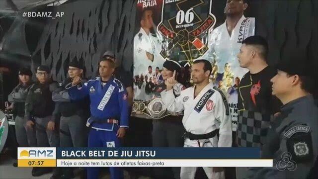 Black Belt de Jiu Jitsu reúne atletas faixas-preta em campeonato nesta sexta-feira