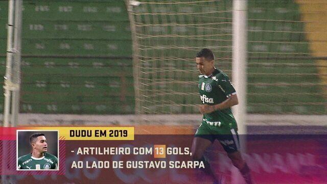 """Comentaristas analisam desempenho de Dudu, do Palmeiras: """"Diferente"""""""