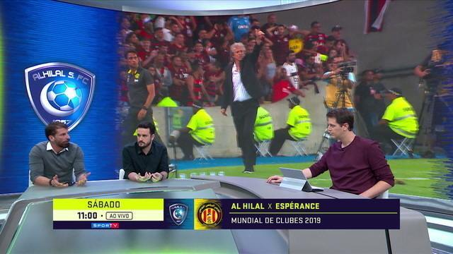 Pedrinho analisa a evolução do jogo do Flamengo de Jesus para momentos em que sai atrás no placar