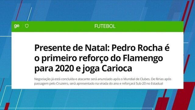 """Mesa debate a contratação do Pedro Rocha pelo Flamengo e Loffredo completa: """"o atacante surge como uma boa opção"""""""