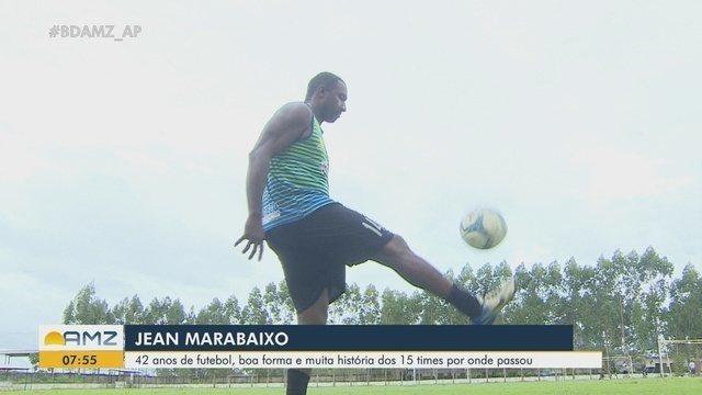 Aos 42 anos, Jean Marabaixo, do Santos-AP, é um dos quarentões dos estaduais pelo país