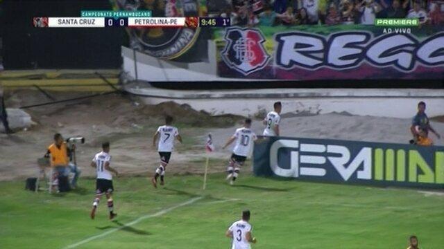Melhores momentos de Santa Cruz 3 x 0 Petrolina, pela 1ª rodada do Pernambucano