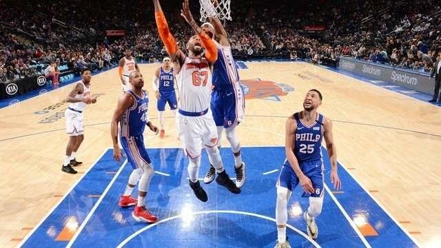 Melhores momentos de Philadelphia 76ers 90 x 87 New York Knicks pela NBA