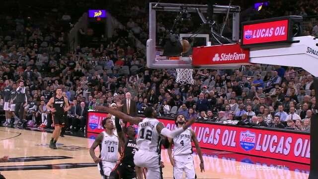 Melhores momentos: San Antonio Spurs 107 x 102 Miami Heat pela NBA