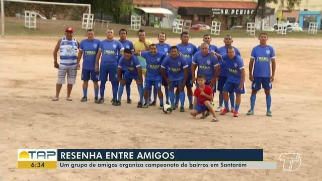 Grupo de amigos organiza campeonato de bairros em Santarém