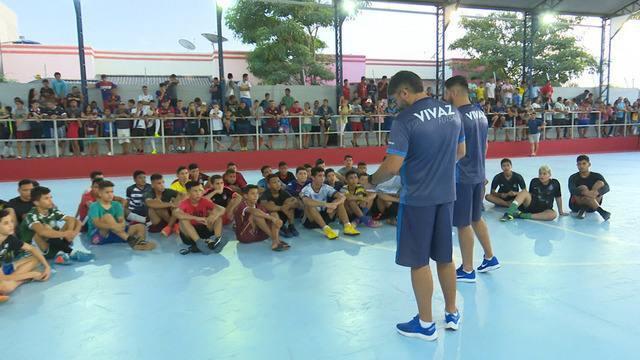 Seletiva do Vivaz reúne mais de 200 atletas e alimenta sonho de jogadores