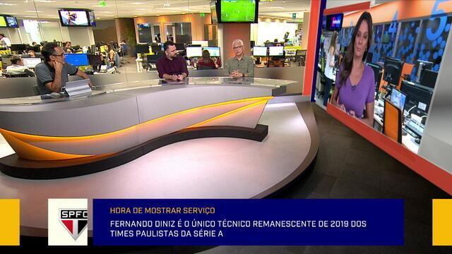 Redação analisa o trabalho de treinadores dos grandes clubes de São Paulo