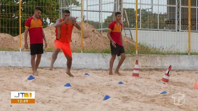 Tapajós intensifica treinos visando duelo com Paragominas no Parazão