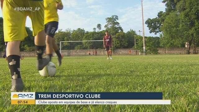 Trem Desportivo Clube aposta em equipes de base e já elenca craques, em Macapá