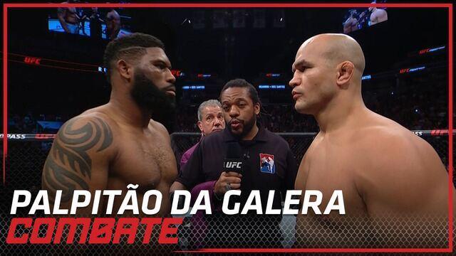 Palpitão da Galera: UFC Raleigh