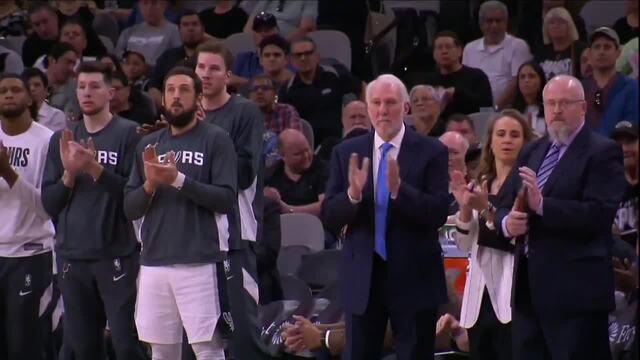 Jogadores de Spurs e Raptors deixam cronômetro estourar em alusão ao número 24 de Kobe