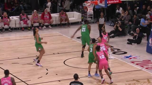 Melhores momentos: Time Wilbon 62 x 47 Time Stephen A., no All Star Game da NBA