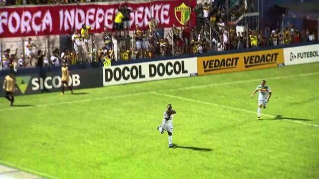 Gol do Brusque! Dandan marca contra o Juventus