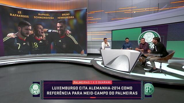 Comentaristas debatem a declaração de Luxemburgo ao comparar Alemanha de 2014 com Palmeiras