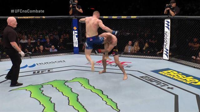 Melhores Momentos de Jake Matthews x Emil Meek no UFC Auckland, em 22/02/2020