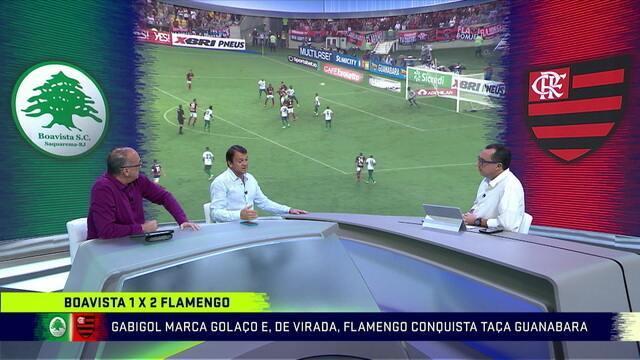 Mesa comenta atuação do Flamengo contra o Boavista e formação ideal após título da Taça Guanabara