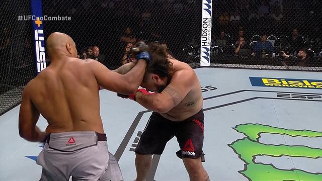 Melhores Momentos de Ben Sosoli x Marcos Pezão no UFC Auckland, em 22/02/2020