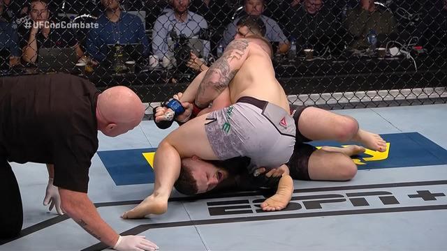 Melhores Momentos de Jimmy Crute x Michal Oleksiejczuk no UFC Auckland, em 22/02/2020
