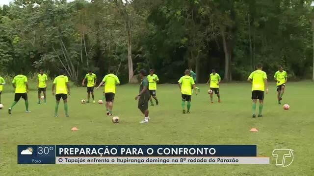 Confira preparação do Tapajós para rodada do Parazão