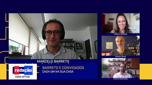 Redação Home Office debate readequação do calendário do futebol brasileiro