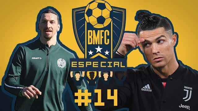 BMFC Especial #14: CR7 e Ibra treinam forte, e jogadora vacila em desafio de embaixadinhas