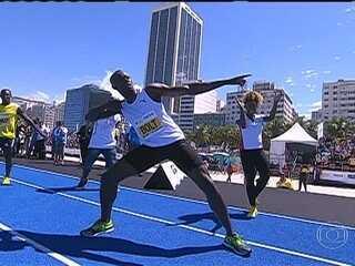 Usain Bolt Titular Pela Primeira
