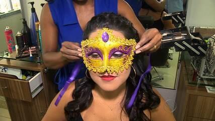 Máscaras de cabelo de uma queratina