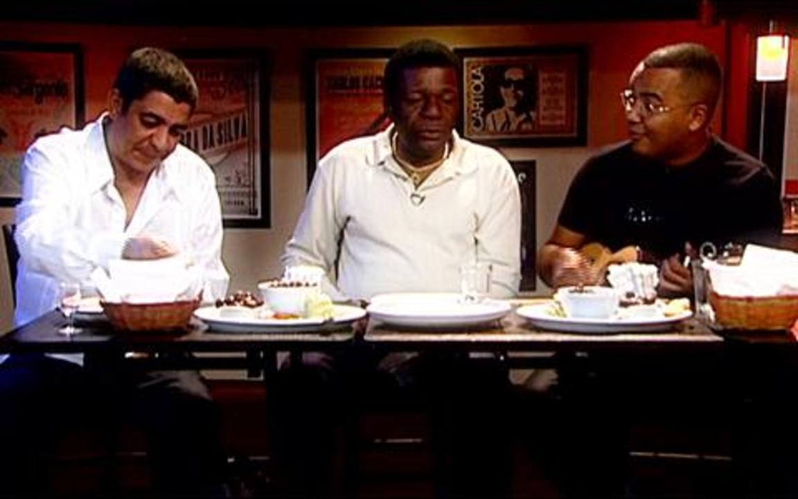 Zeca Pagodinho, Almir Guineto e Dudu Nobre cantam Ogum