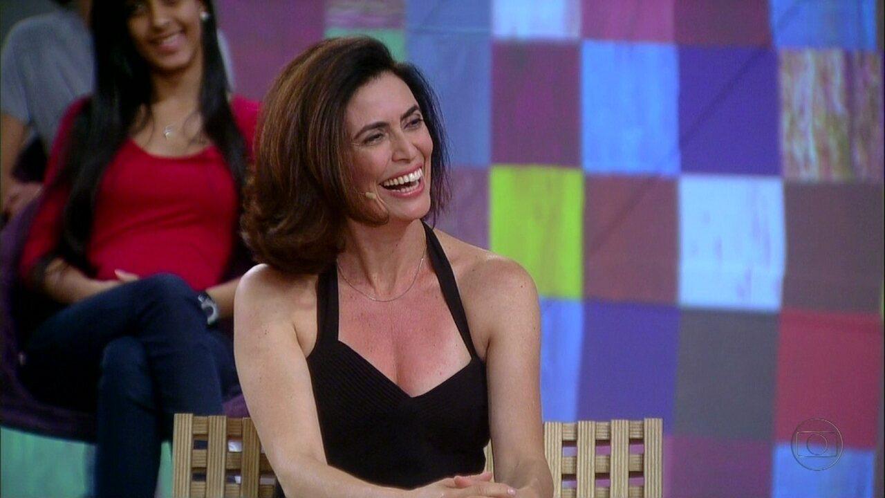 Encontro com Fátima Bernardes | Giuliana Morrone disse que ... Angelina Jolie