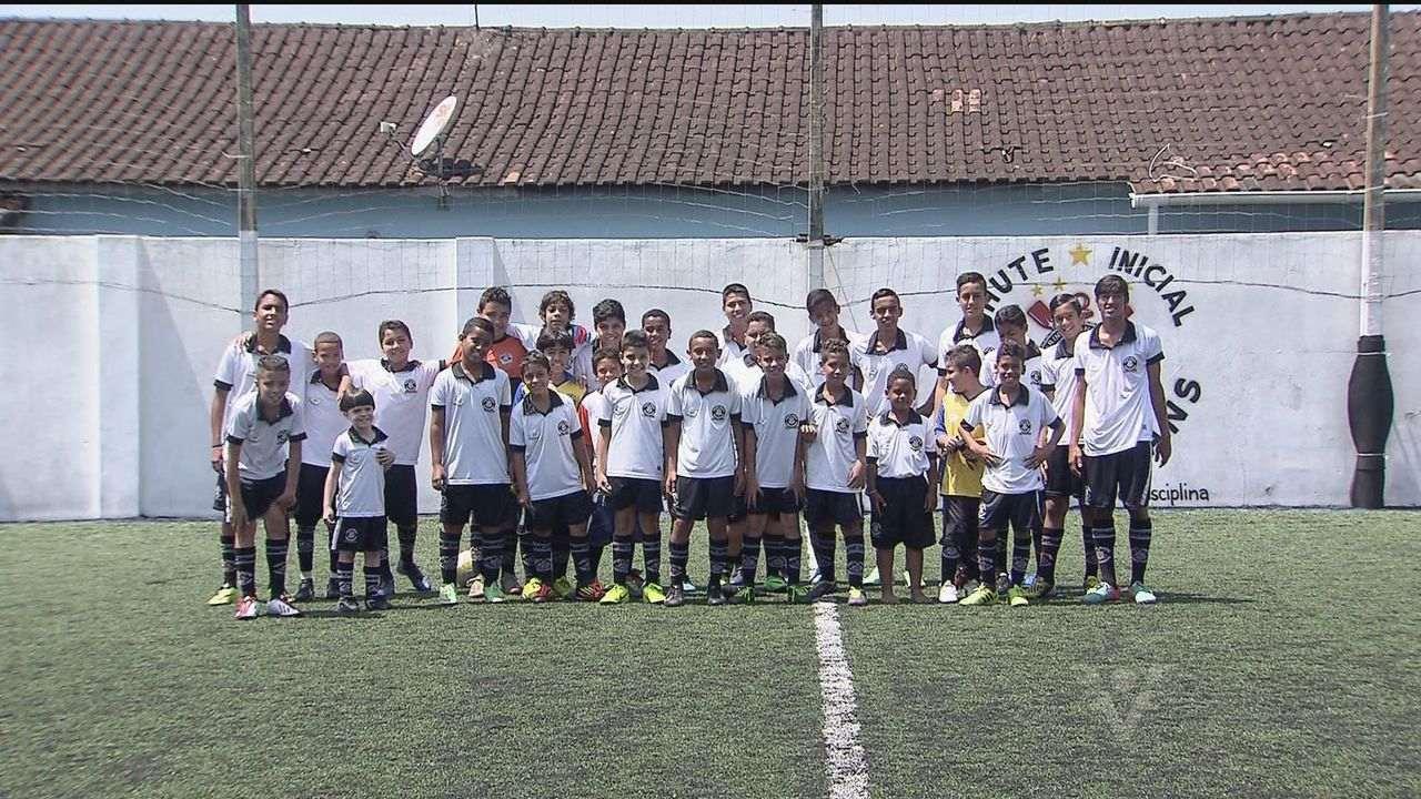 Escolinha oficial do Corinthians é inaugurada em Praia Grande dd2b2dd9c82f5
