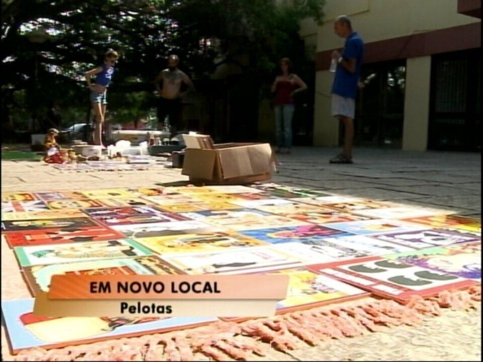 6721589b62f Mercado das Pulgas está em novo local - G1 Rio Grande do Sul - Jornal do  Almoço - Catálogo de Vídeos