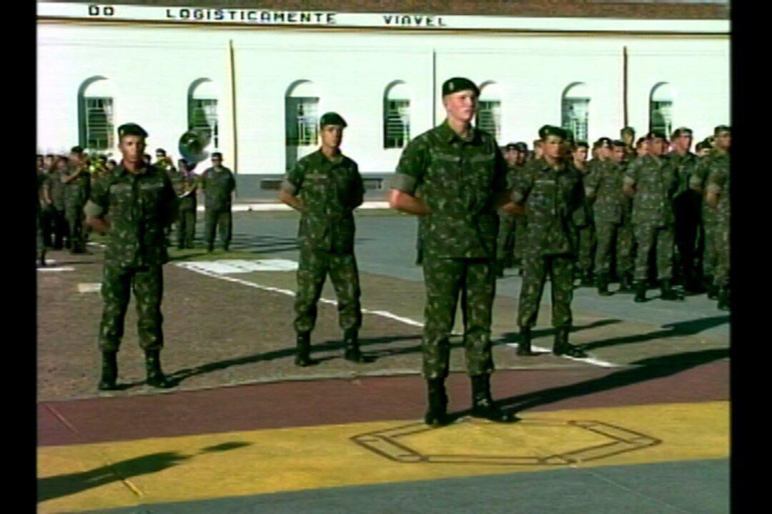 ae50d2b89d8d4 Cerimônia marca entrega da Boina Preta em Quartel de Bagé
