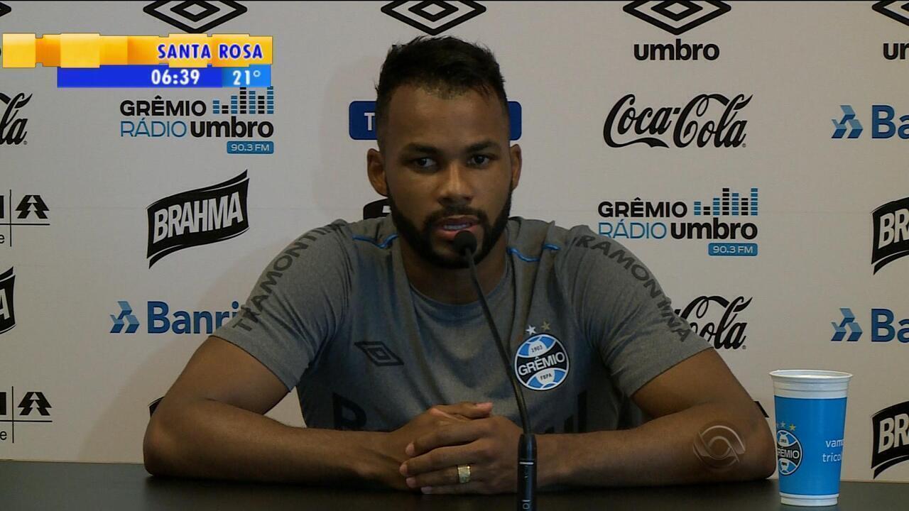56484541dc Esporte  Fernandinho fala sobre o Atlético Mineiro - G1 Rio Grande do Sul -  Bom Dia Rio Grande - Catálogo de Vídeos