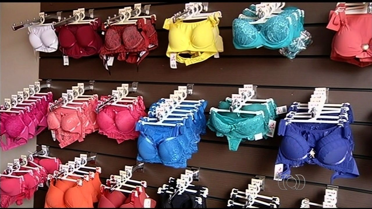 49b7676da Pontalina se destaca na produção de lingerie em Goiás - G1 Goiás - Vídeos -  Catálogo de Vídeos