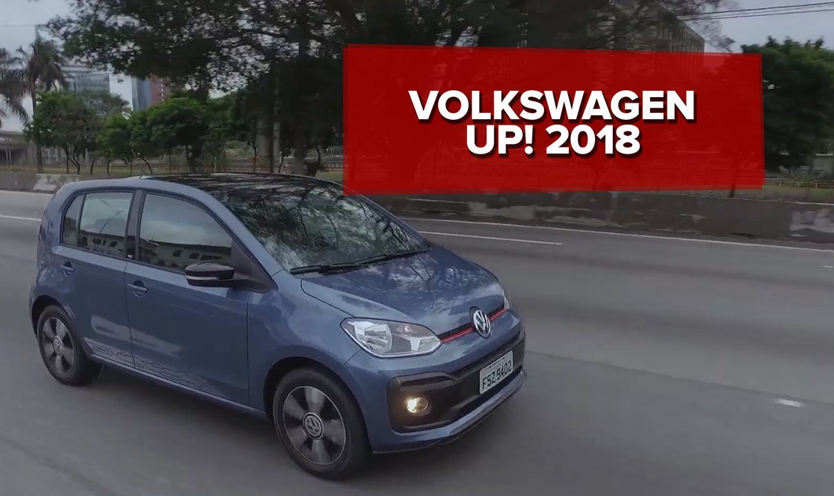 volkswagen up 2018 primeiras impress es auto esporte g1. Black Bedroom Furniture Sets. Home Design Ideas