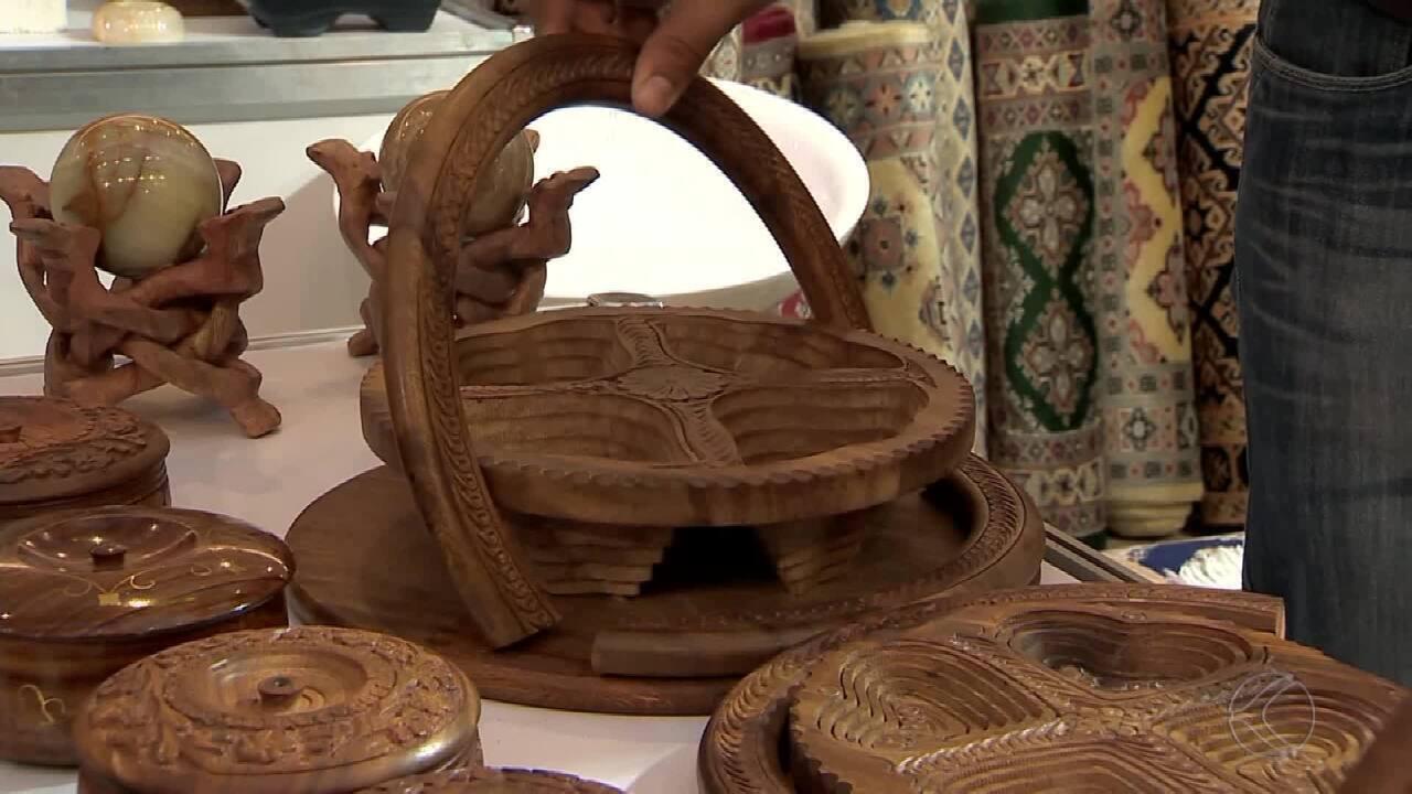 Armario Oficina Bajo ~ Feira de artesanato Mostra Mundi traz belas peças para Juiz de Fora G1 Zona da Mata de Minas