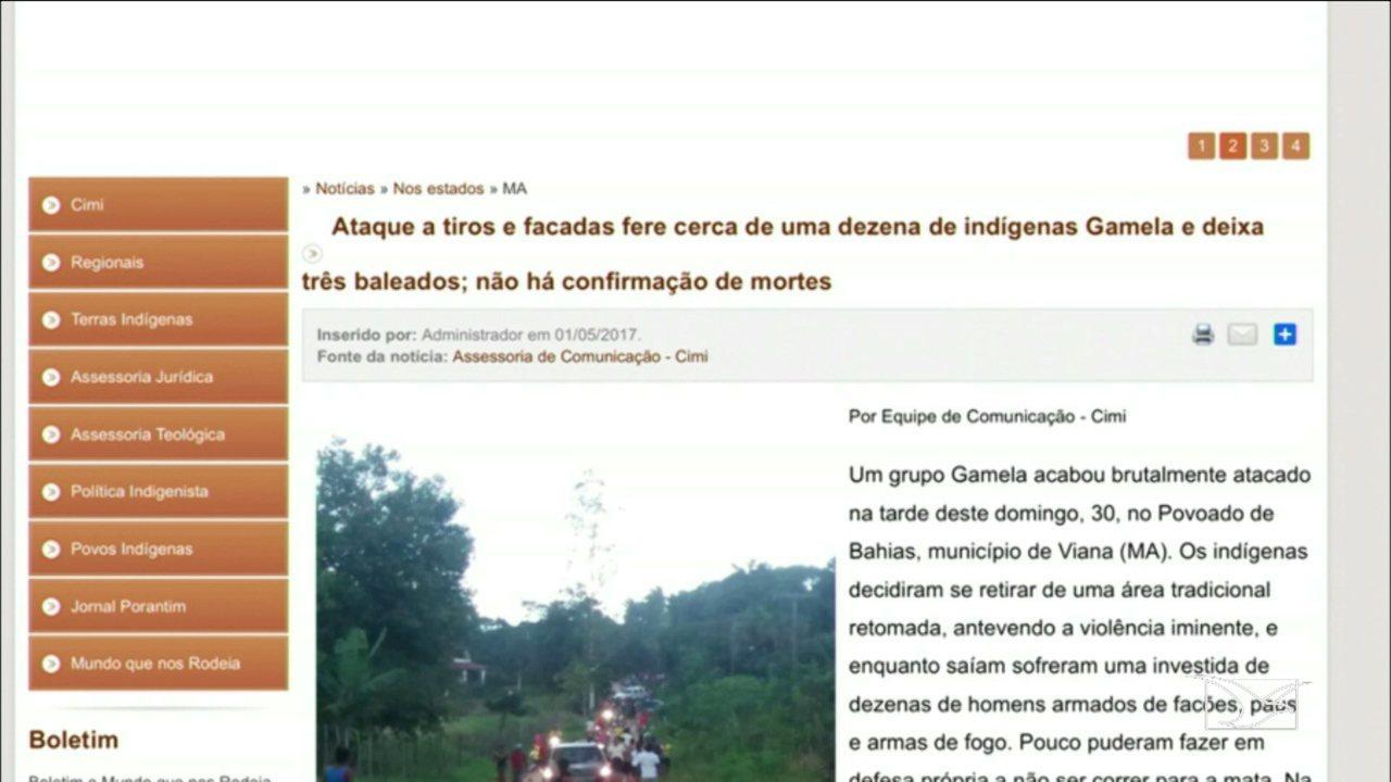 Comunidade indígena é atacada no Maranhão