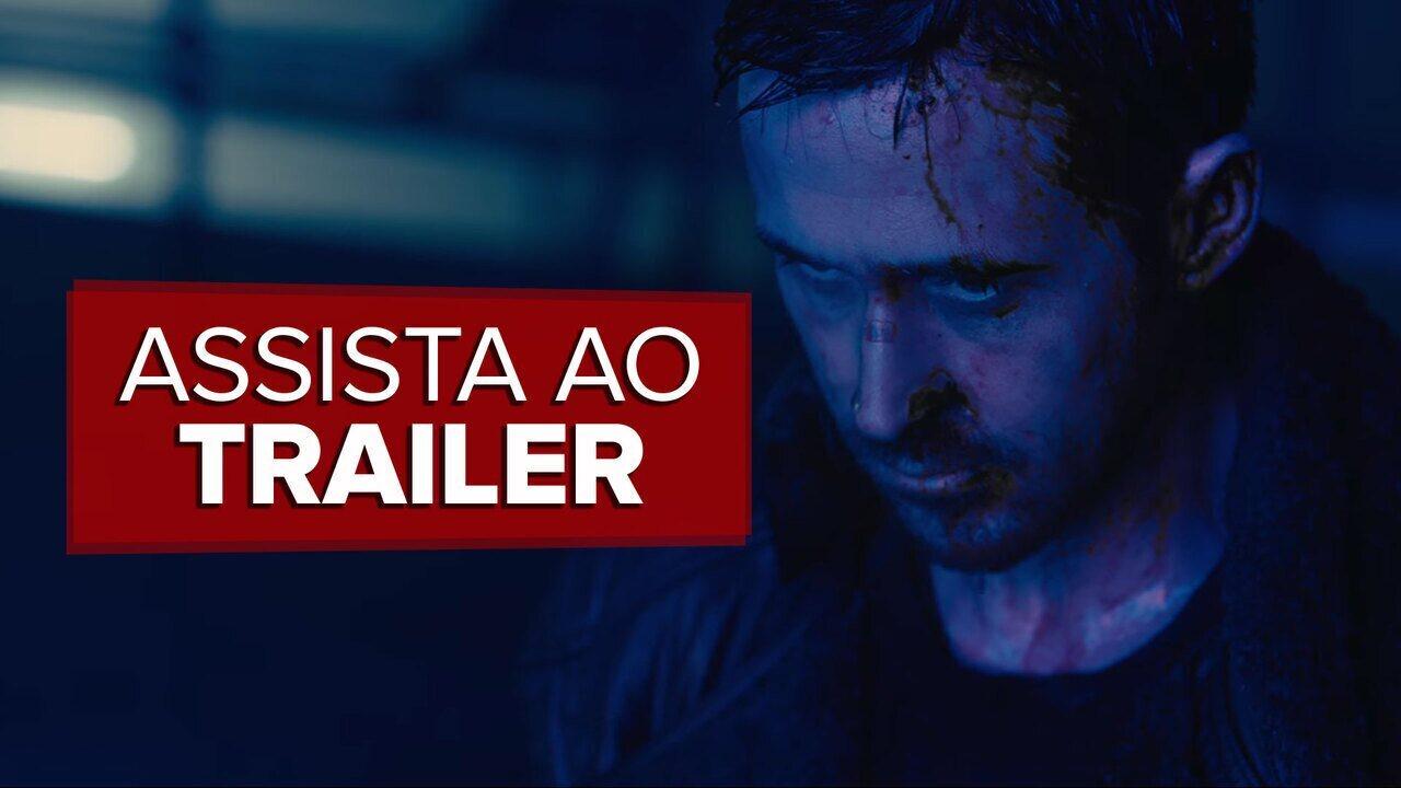 Ryan Gosling confronta Harrison Ford em trailer do novo 'Blade Runner'