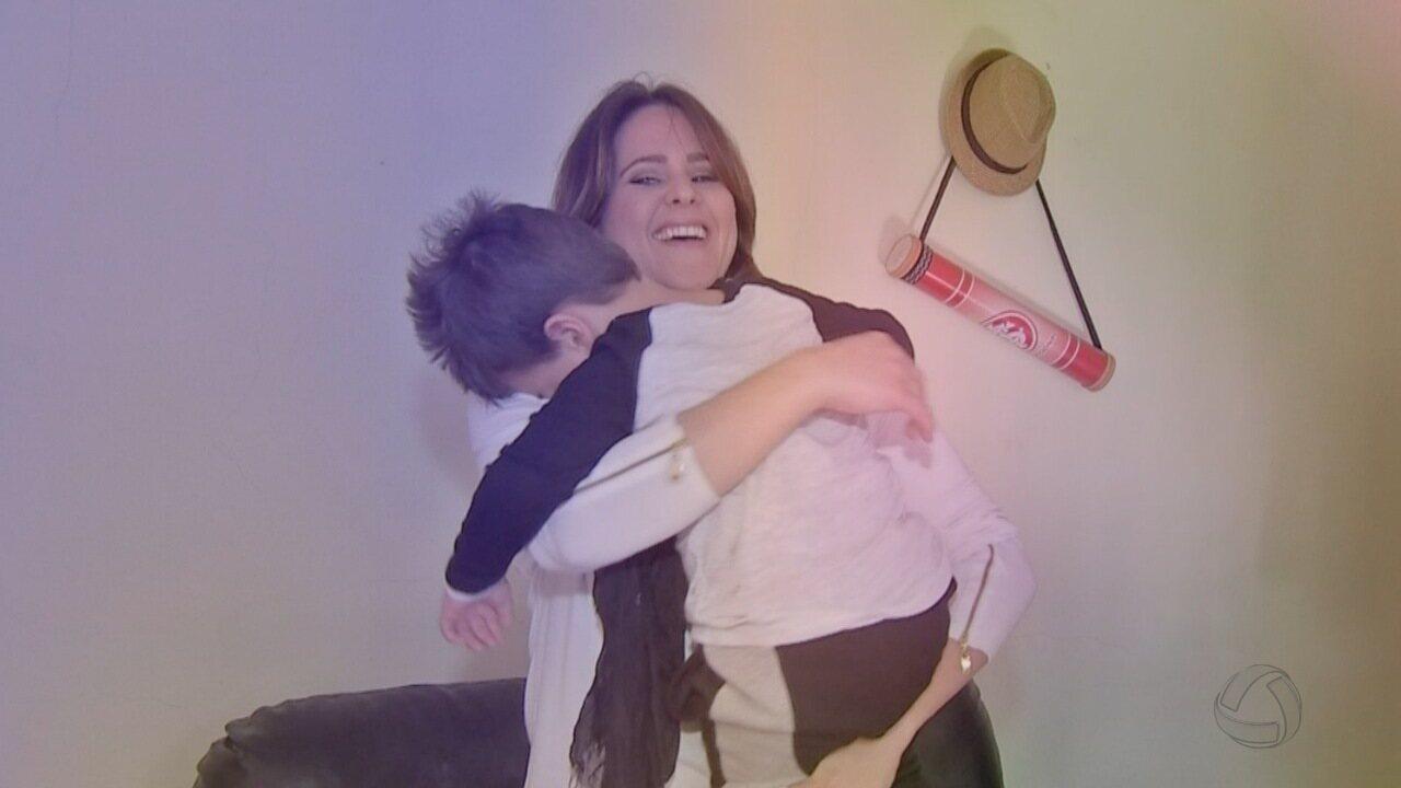 Resultado de imagem para 'Meu maior foco é a independência dele', diz mãe de criança com paralisia cerebral