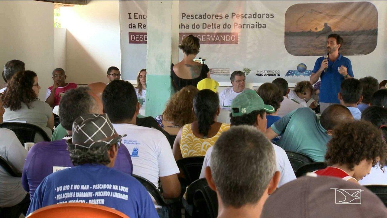 Ministro do Meio Ambiente participa de encontro de pescadores em São Luís