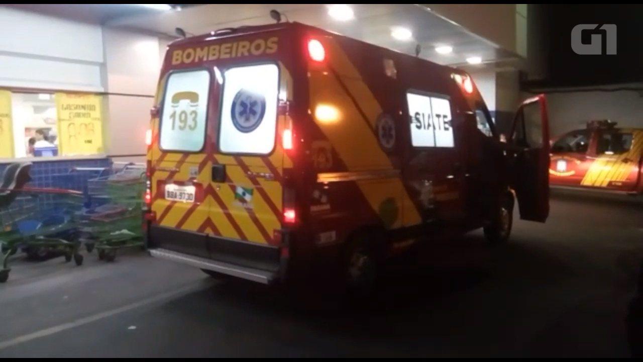 Resultado de imagem para Funcionário de supermercado morre esmagado por elevador em Telêmaco Borba