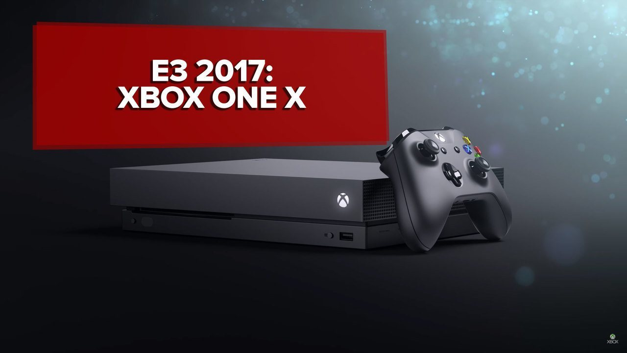 Xbox One X será o novo console da Microsoft lançado em novembro