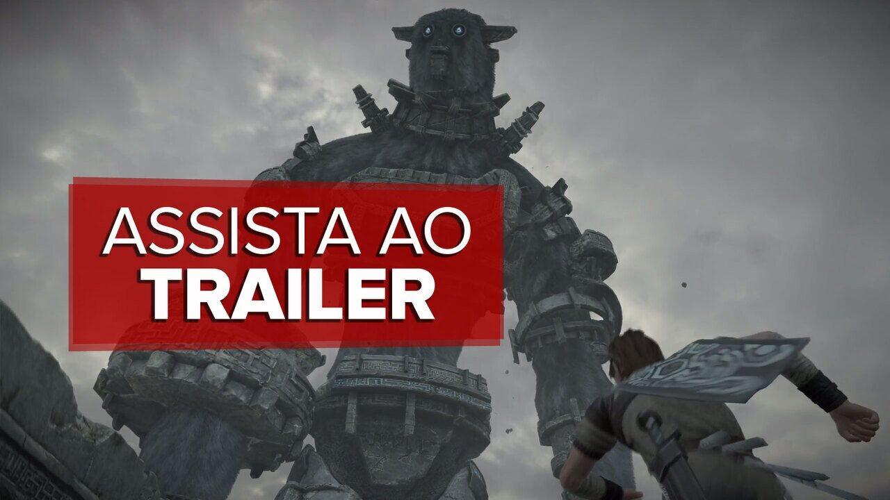 E3 2017'Shadow of the Colossus ganhará remasterização veja trailer