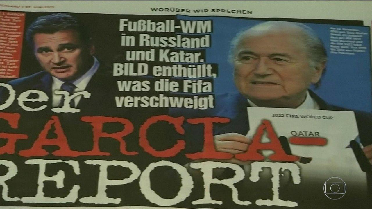 Fifa investiga compra de votos para escolha de Rússia e Catar como sede da Copa