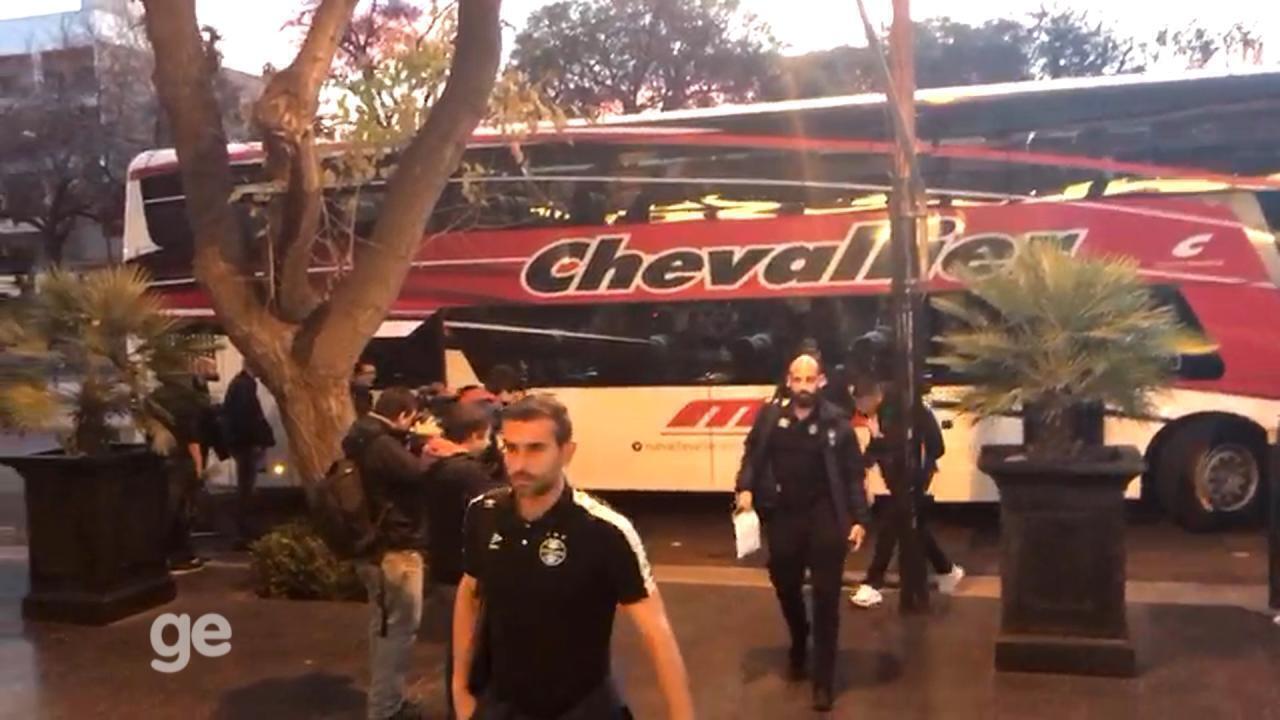 Renato celebra vantagem e aponta valentia do Grêmio em triunfo na Argentina